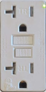 GFCI Tamper-Resistant outlet Indiana White's Electrical
