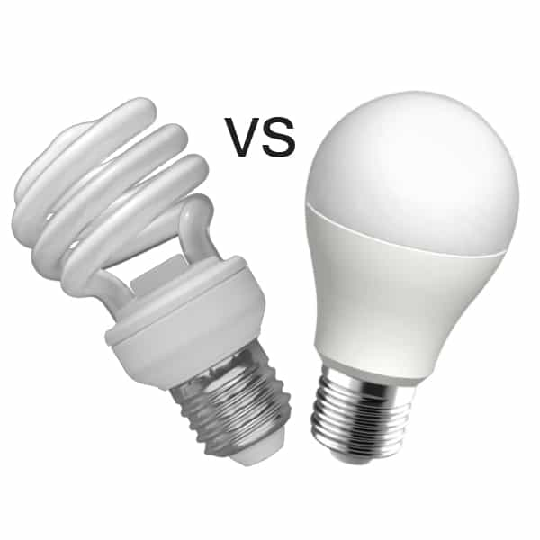 What are the Differences between LED and Fluorescent Light Bulbs?