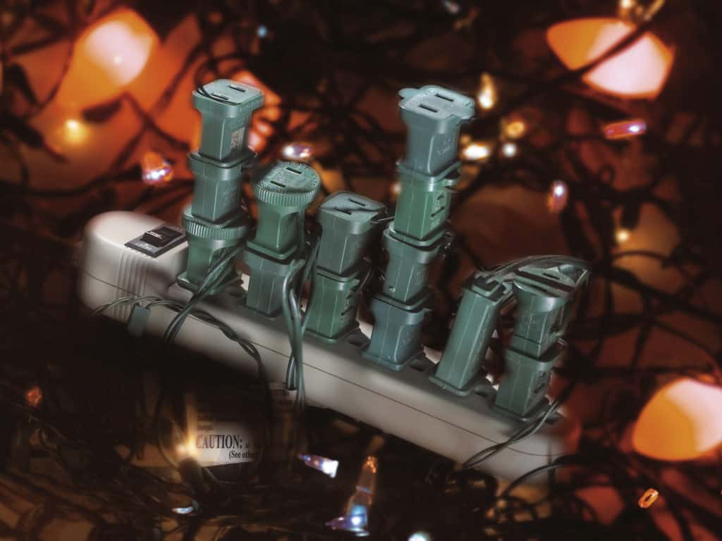 Christmas light electrical safety White's Electrical Indianapolis